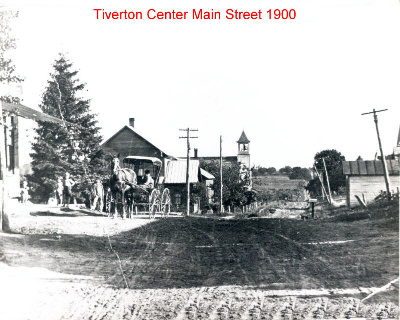Tiverton Main Street 1900